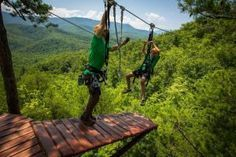 CLIMB Works is one of the most thrilling attractions in the Smokies.