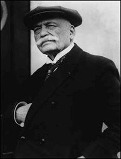 Chef Auguste Escoffier.