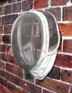 FENCING HELMET LIGHT, Antiques by Design