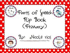 This flip book is a great way to introduce, or review, parts of speech with your students. This booklet reviews nouns, verbs, adjectives, and prono...