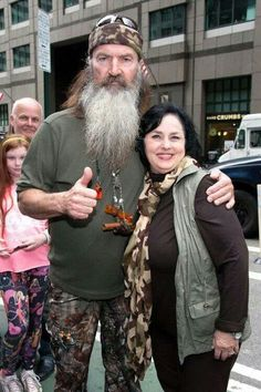 """Duck Dynasty"" matriarch Miss Kay is happy to keep her whole duck-hunting family, including husband Phil Robertson, in check and well-fed on the A&E hit . Robertson Family, Phil Robertson, Good Marriage, Marriage Tips, Phil Kay, Miss Kays, Celebrity Scandal, Duck Commander, Christian Families"