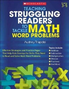 Teaching Struggling Readers to Tackle Math Word Problems: Grade 3-5 (Paperback) - 14047710 - Overstock.com Shopping - Great Deals on Education