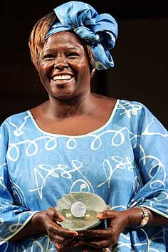 all the nobel peace prize winners   Wangari Muta Maathai was born in Nyeri, Kenya (Africa) in 1940. The ...