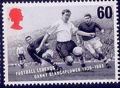 Football Legends 60p Stamp (1996) Danny Blanchflower