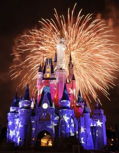 Our favorite places to watch the  fireworks at Magic Kingdom.