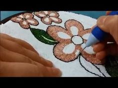 Introduction To Punch Needle Embroidery ~A Close Up - YouTube