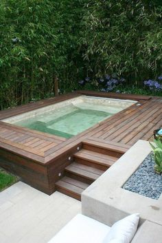Oberirdischer Pool, Small Swimming Pools, Above Ground Swimming Pools, Small Pools, Swimming Pools Backyard, Swimming Pool Designs, In Ground Pools, Lap Pools, Indoor Pools