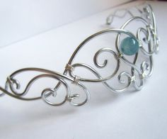 Elven Circlet  Silver Tone Aluminum Headpiece  by FantasiaElegance, $38.00