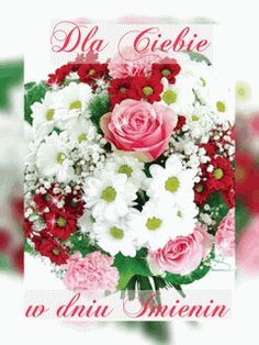 Dla Kazdego Imieniny Floral Wreath Floral Table Decorations