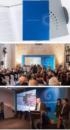 Logotipo e imagen premios Ourensania