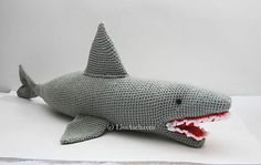 Ravelry: Fergal 'Shark'ey crochet shark: FREE crochet pattern by LisaAuch