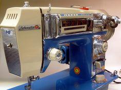 MI Vintage Sewing Machines: Morse 4400 Fotomatic IV