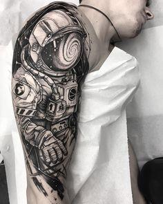 Killer Ink Tattoo on, Dna Tattoo, Alien Tattoo, Full Tattoo, Sick Tattoo, Samoan Tattoo, Polynesian Tattoos, Tattoo Ink, Space Tattoo Sleeve, Tattoo Sleeve Designs
