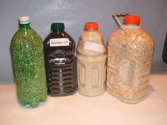 Storing Bulk Dry Foods in PETE Bottles using Oxygen Absorbers #pete #1 #plastic #bottles http://pet.remmont.com/storing-bulk-dry-foods-in-pete-bottles-using-oxygen-absorbers-pete-1-plastic-bottles/  Storing Bulk Dry Foods in PETE Bottles using Oxygen Absorbers PETE plastic bottles are good containers that can be used for storage of shelf-stable, bulk dry foods that you normally keep in canisters in your pantry. Normal kitchen canisters do not have air tight seals. As a result, with changes…