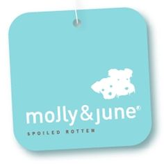 Super cute logo for Molly & June (yes they make clothing. for your dog.)