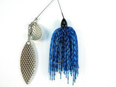 VALENTINES gift for your MAN! Free Ship Handmade Fishing Lure Blue Moon HUNYHOLE BAITS by gr8byz, $7.99