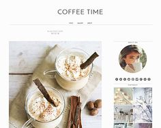 Responsive Blogger Template - White Blogger Design - Minimalist Blog