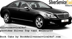 #SILVER #TOP #TAXI #SERVICE #Melbourne is located in the heart of Melbourne offering a comprehensive range of transport services 24 hours a day, 365 days a year. We cover a broad area within the Melbourne and suburbs. Bookings can be made by phone, website or e-mail. We aim to give confirmation of booking within 15 minutes. Book rides by Book@silverservice24x7.com For more detail visit at www.silverservice24x7.com and call at +61 452 622 391