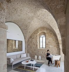 Beautiful Stone Home Restoration in Israel
