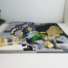 Bricklink orders progress  #brick #bricks #Bricklink #Lego #Legos #legostagram #legomoc #moc #haul #order #progress #building #scene #display #desert #brits #british #uk #allies #getman #germany #africa #africorps #torch #operation #operationtorch by aspenglerchannel
