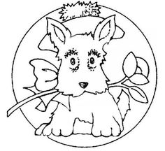 Check Out All These Free Embroidery Designs: Dogs and Puppies
