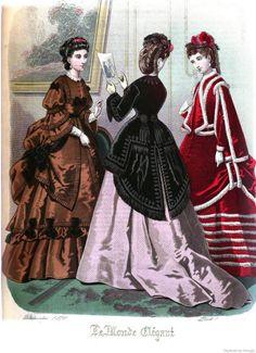 Le Monde Elégant 1870 December