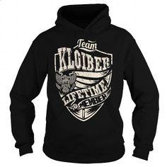 Last Name, Surname Tshirts - Team KLOIBER Lifetime Member Eagle - #appreciation gift #gift amor