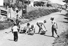 Corrida de Rolimã. década de 50