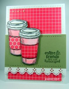 Friends and Coffee by jojot - Cards and Paper Crafts at Splitcoaststampers