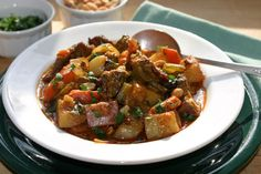Crock Pot Curried Beef Stew  Try a vegetarian substitute and do on the stove top instead! xox yummy
