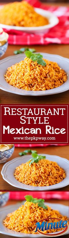 Rice Recipes, Side Dish Recipes, Mexican Food Recipes, Great Recipes, Dinner Recipes, Cooking Recipes, Favorite Recipes, Healthy Recipes, Beans Recipes