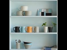 You can chose any colour combination to reflect your personality and the occasion. They all mix and match perfectly. What's your choice? Mid Century Design, Contemporary Interior, Tea Towels, Floating Shelves, Home Accessories, Personality, Ceramics, Colour, Inspiration