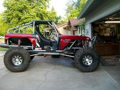 its not a jeep....its a Bronco..... but its badass