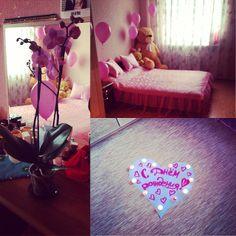 Instagram media by sorokinamiss - Девочки мои спасибо за подарки очень приятно вернуться домой и попасть в розовый рай)