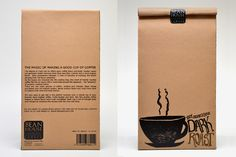 """Student project """"Ground Coffee"""" by Lina Sponberg"""