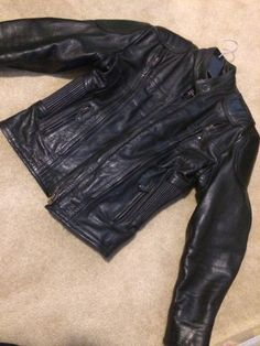 Heavy Leather Motorcycle Jacket - for Women | women's - tops, outerwear | Mississauga / Peel Region | Kijiji