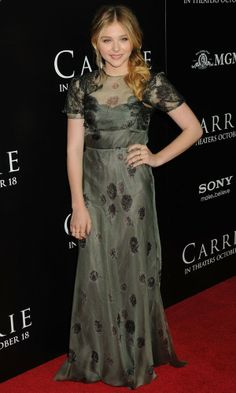 chloe moretz CARRIE  PREMIERE | Chloe Moretz at the Carrie premiere - Tuesday 8 October 2013 | InStyle ...