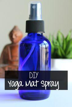 DIY Natural Yoga Mat Cleaning Spray.@ubykotex  #UBKForMe #ad #yoga #natural #diy