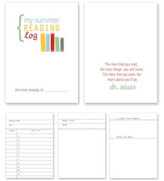 Summer Reading Printables - simple as that