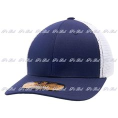 Shop for Wholesale Trucker Hats Wholesale: Navy and White Pit Bull Cambridge Mesh Stretch Trucker Cap Hat Flex. Easy Custom Embroidery and Wholesale Bulk Order. Custom Embroidery, Dad Hats, Mesh Fabric, Cambridge, Navy And White, Wool Blend, Pitbulls, Cap, Products
