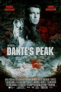 Dante's Peak is an action/adventure thriller starring Pierce Brosnan, Linda Hamilton, and Charles Hallahan. Set in the fictional town of Dante's Peak, the town must survive the volcano and its dangers. What can I say, I love diasteer movies. Pierce Brosnan, Old Movies, Great Movies, Movies Free, Love Movie, Movie Tv, Movies Showing, Movies And Tv Shows, Film Catastrophe