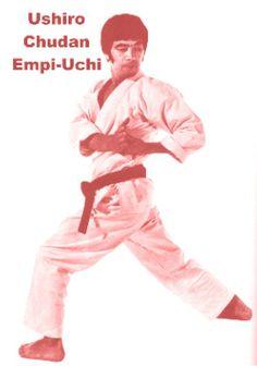 Ushiro Chudan Empi-Uchi