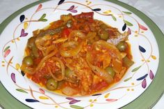 puerto rican recipes | Puerto Rican Recipes by Samia: Bacalao Guisado - Stewed Codfish