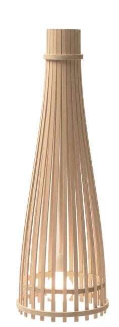 Reed Half Pendant Lamp
