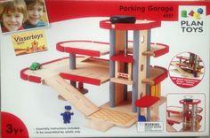 De beste houten garage is gewoon van Plan Toys