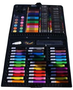 A briefcase full of art supplies... | 48 Reasons '90s Kids Had The Best Childhood