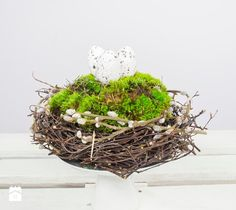 DIY: Wielkanocny stroik