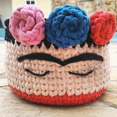 Exceptional Stitches Make a Crochet Hat Ideas. Extraordinary Stitches Make a Crochet Hat Ideas. Crochet Bowl, Crochet Basket Pattern, Easter Crochet, Love Crochet, Crochet Gifts, Beautiful Crochet, Crochet Yarn, Crochet Patterns, Crochet Projects