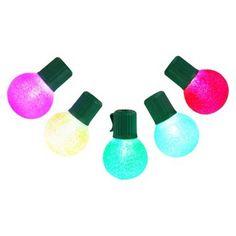 Multi-Colored Sugared Lights