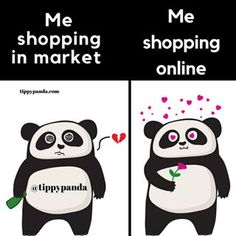 Tippy Panda 🐼🎀 (@tippypandastore) • Instagram photos and videos Panda Meme, Online Marketing, I Shop, Thats Not My, Online Shopping, Playing Cards, Photo And Video, Love, Memes